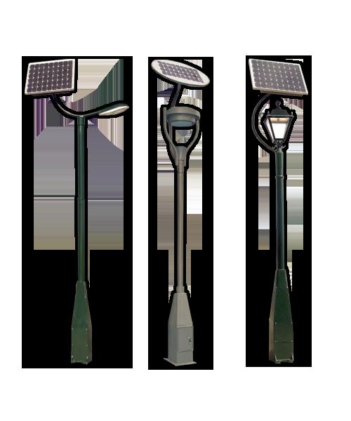 Farolas Solares sin mantenimiento ni aporte de corriente eléctrica